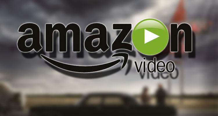 Logotipo Amazon Prime Video con fondo serie