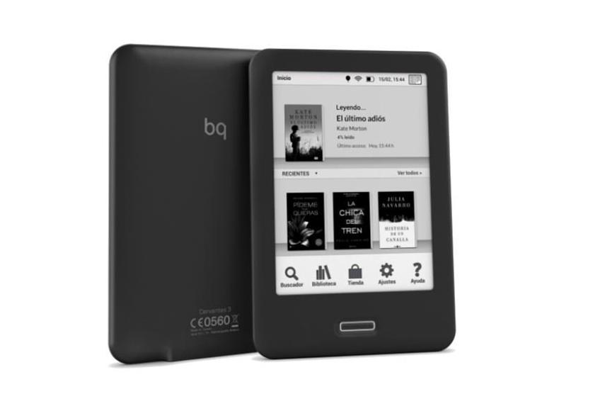 Libro electrónico BQ Cervantes HD