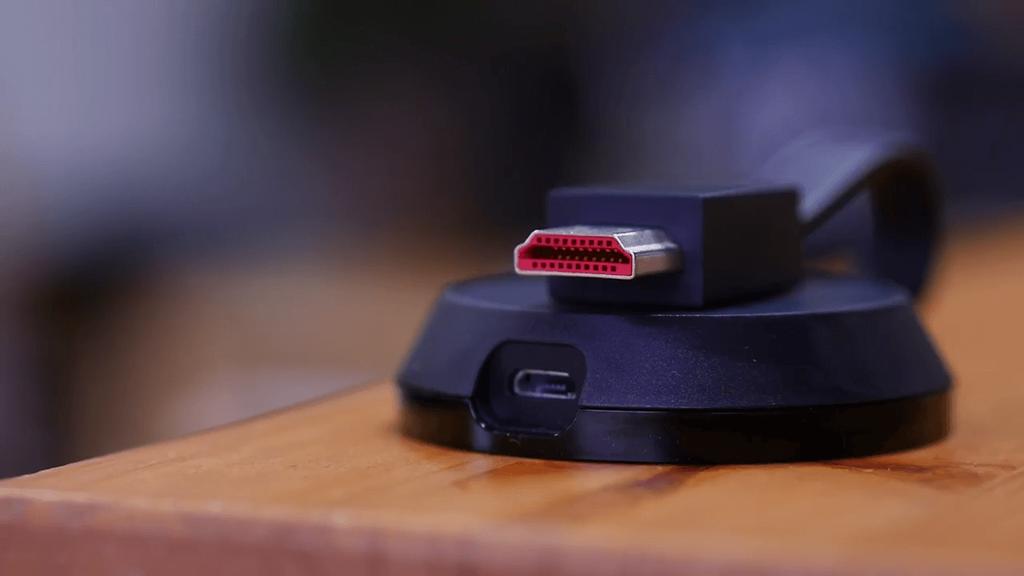 Conexiones Chromecast Ultra