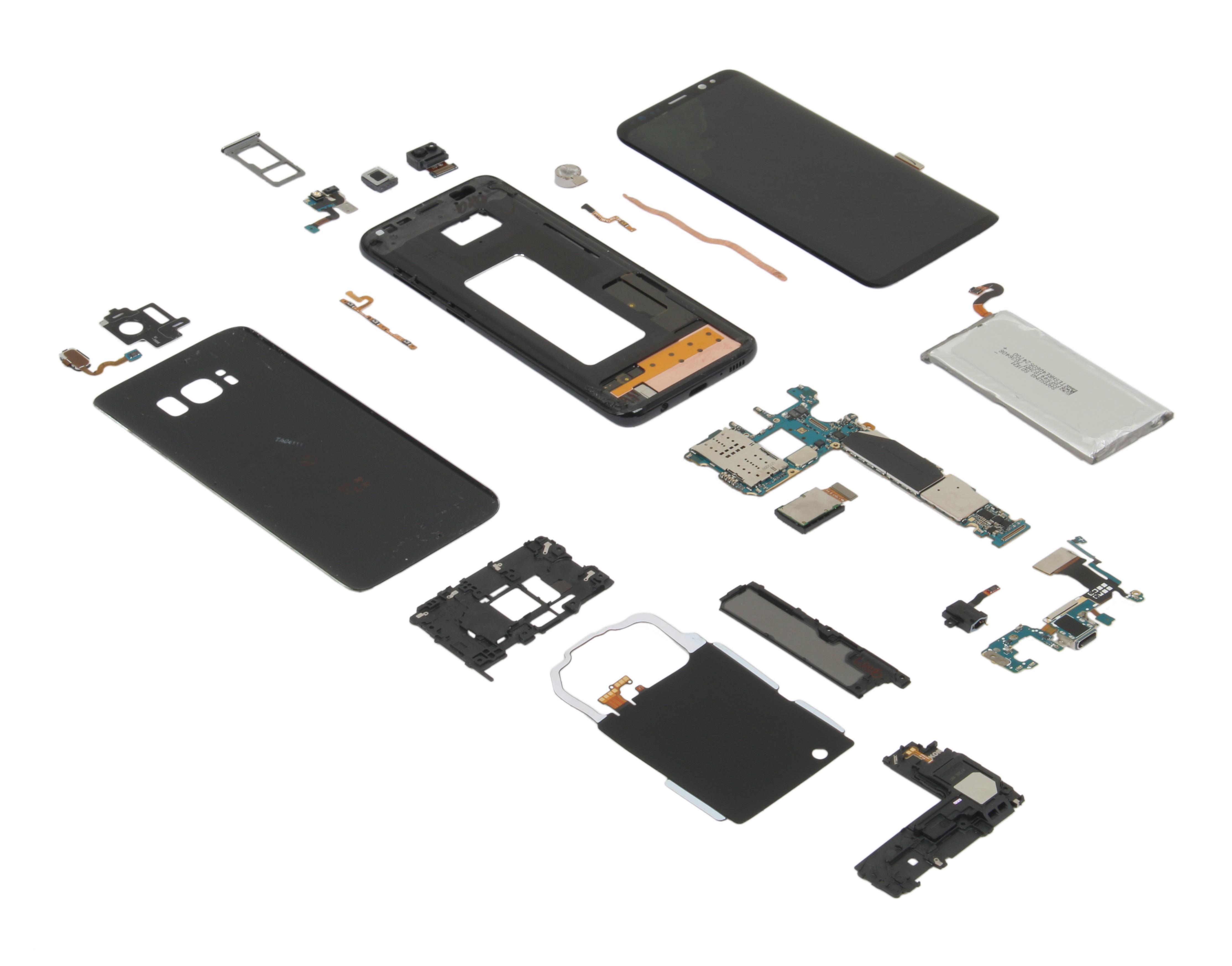 fabricar el Samsung Galaxy S8