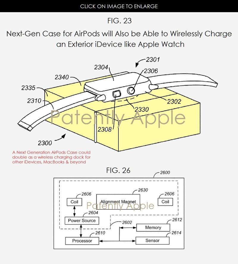 POsible recarga inalámbrica en los Airpods de Apple