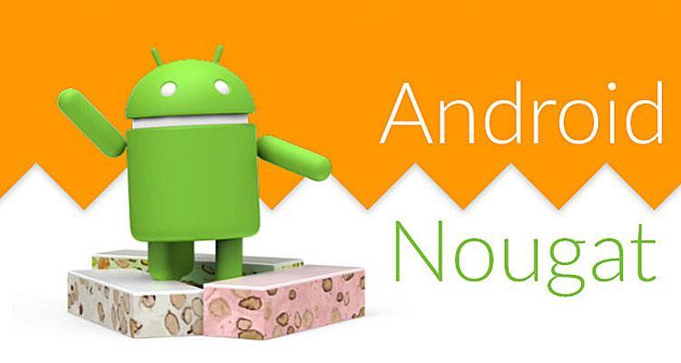 Logotipo de Android Nougat