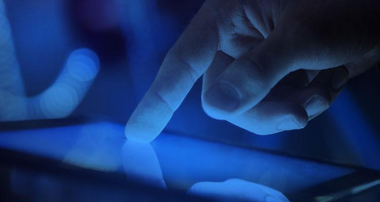 Uso del filtro de luz azul