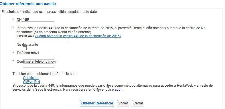 Web renta 2016