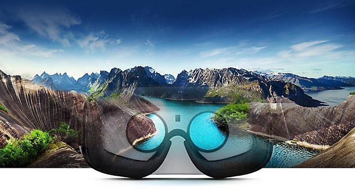 Samsung gear VR visión