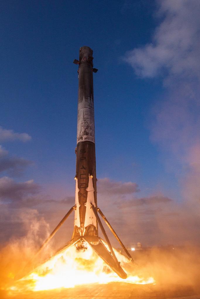 Aterrizaje de SpaceX