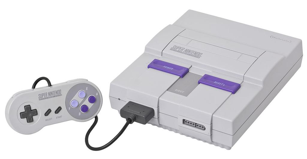 Consola Super Nintendo Entertainment System base de Mini SNES
