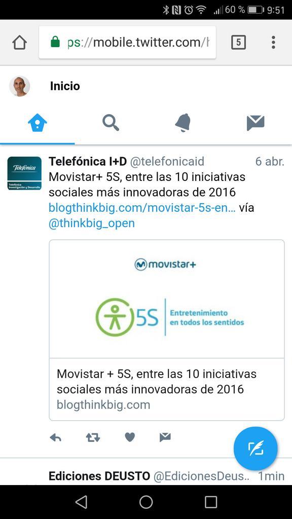 Interfaz de Twitter Lite