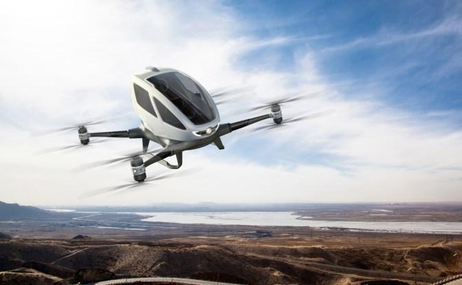 Prototipo de Uber Elevate para Uber Air