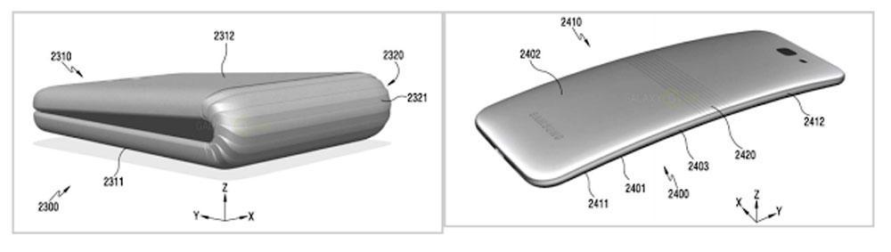 móvil con pantalla plegable