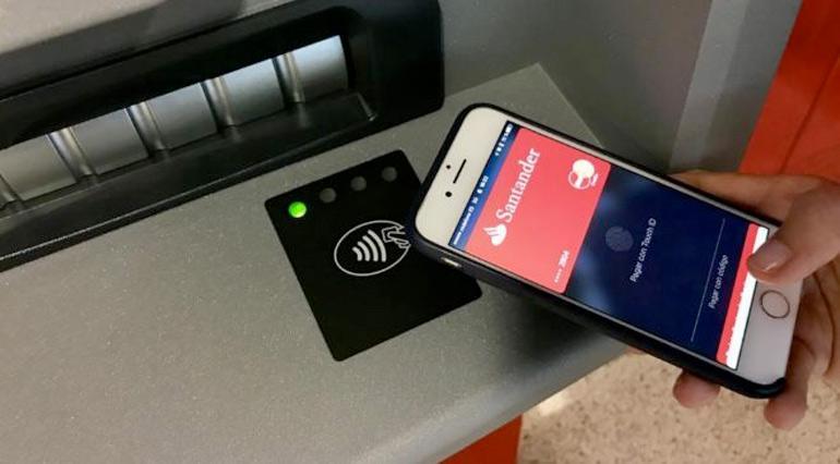 Pago cajero con smartphone