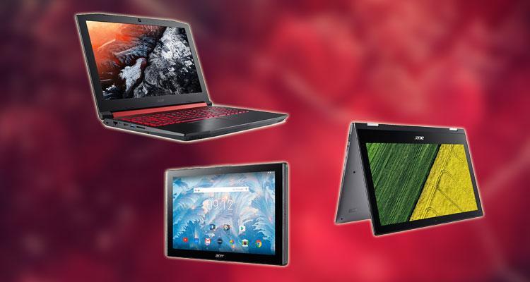 Dispositivos que Acer presentará en la feria COMPUTEX 2017