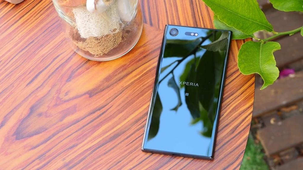 Estética del Sony Xperia XZ Premium