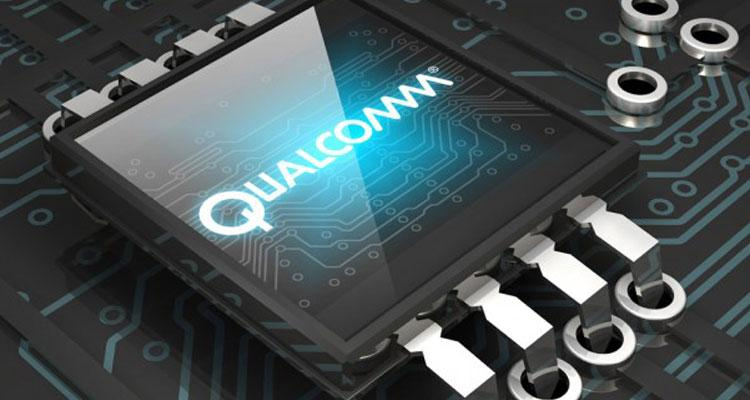 Chip de Qualcomm con fono gris