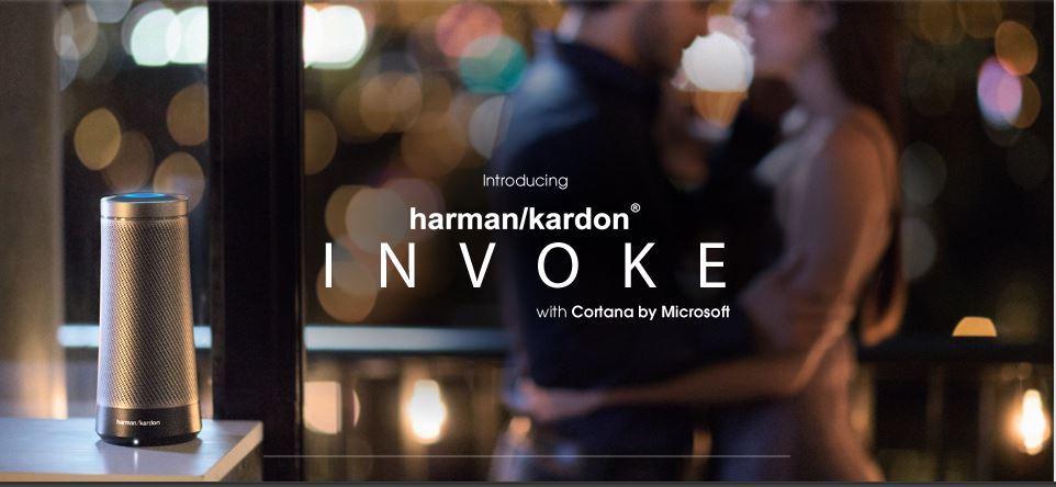 Fecha de llegada al mercado de Invoke de Harman Kardon con Cortana