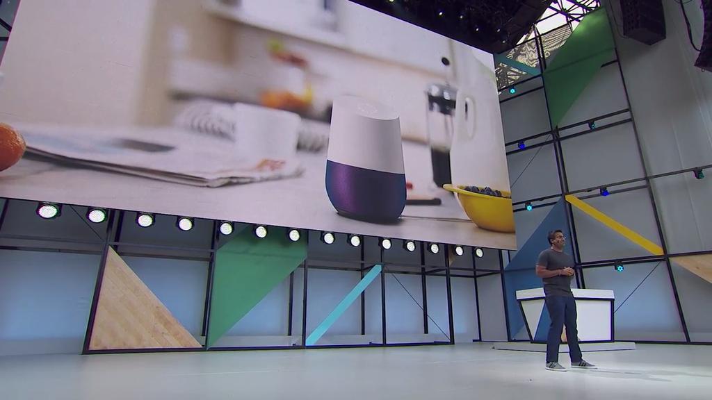 Google Home en Google I/O