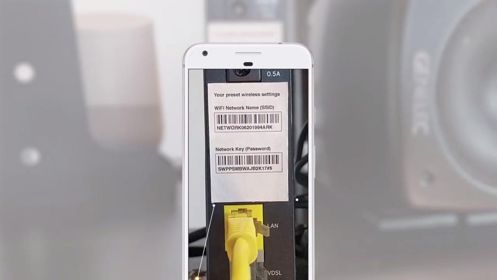 Google Lens en Google I/O