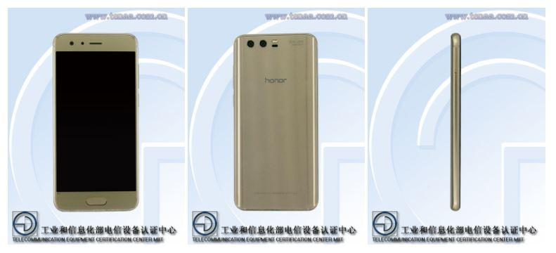 Posible diseño del Honor 9
