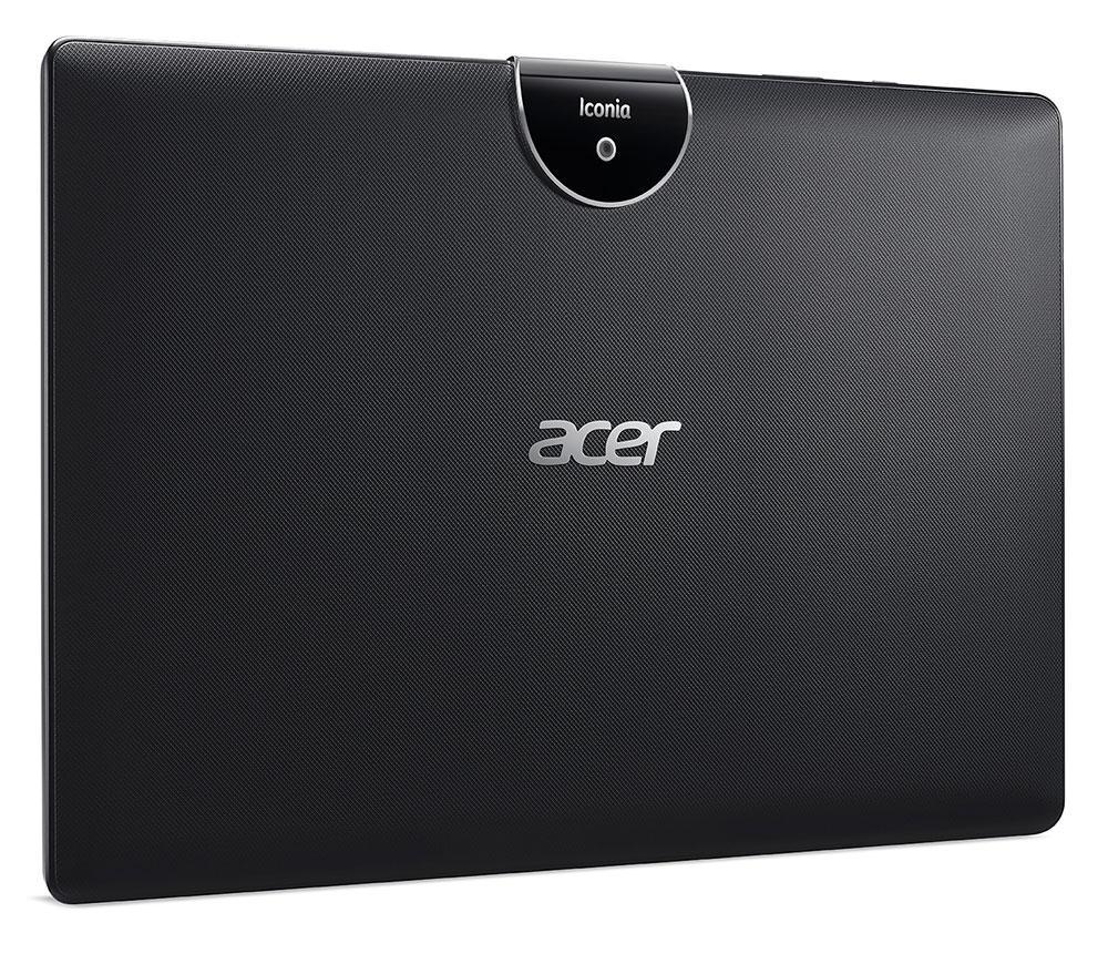 Trasera de Acer Iconia Tab 10 que Acer presentará en la feria COMPUTEX 2017