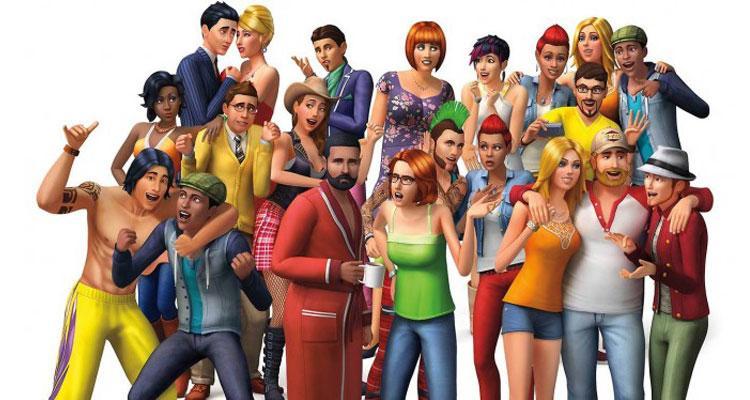 Protagonistas del juego Los Sims
