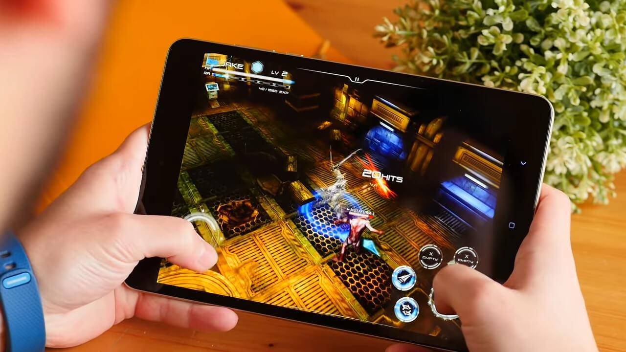 Juego en el Xiaomi Mi Pad 3