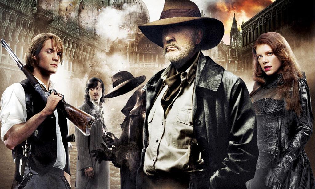 Película La liga de los hombres extraordinarios en HBO para junio de 2017