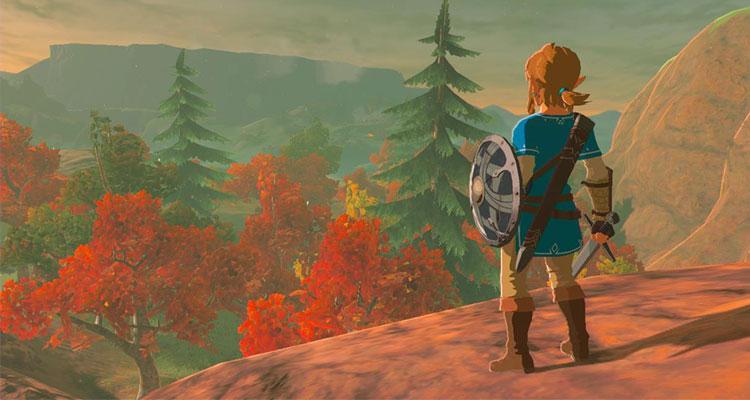 Juego Legend of Zelda de Nintendo