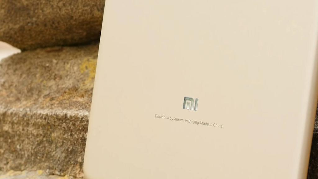 Logotipo en el Xiaomi Mi Pad 3
