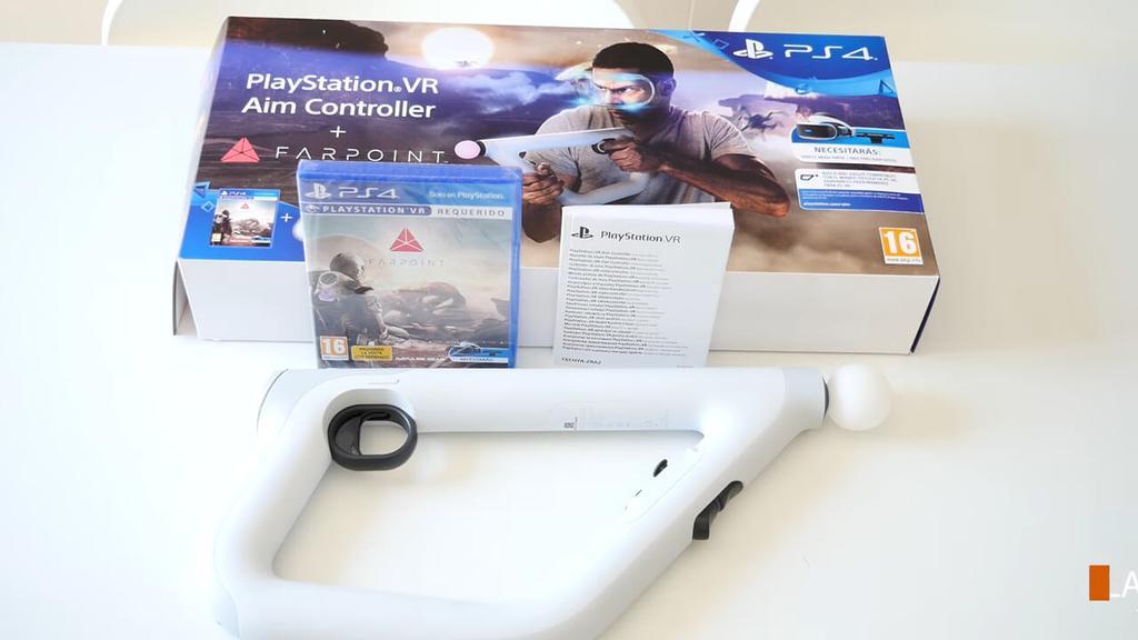 Contenido pack Fairpoint con mando PS VR Aim Controller