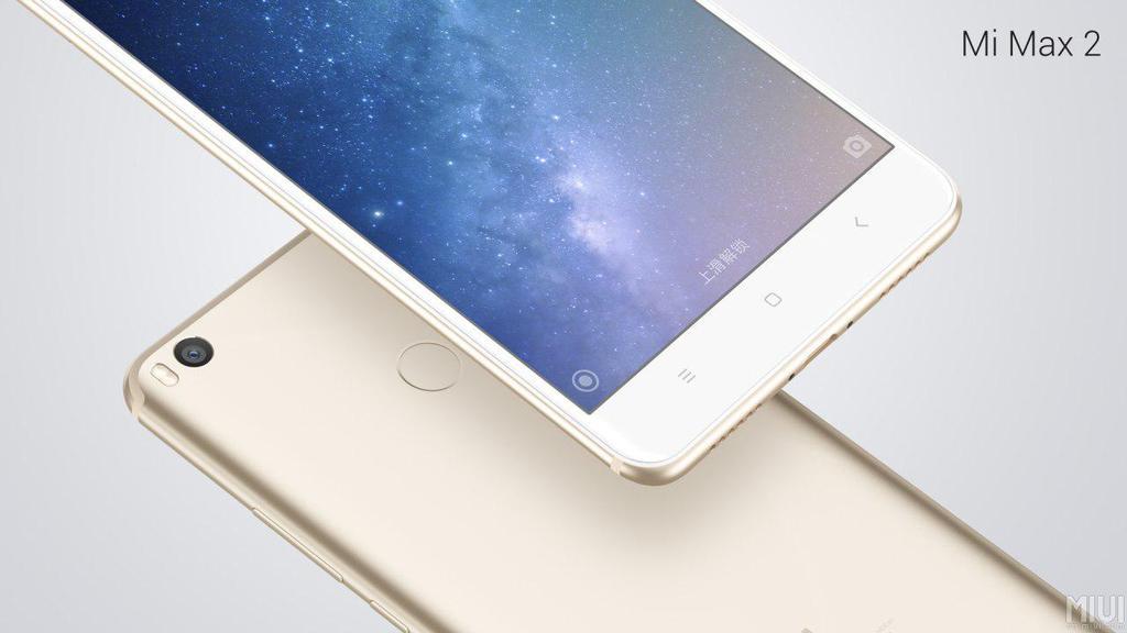 Acabado trasero de metal del Xiaomi MI Max 2