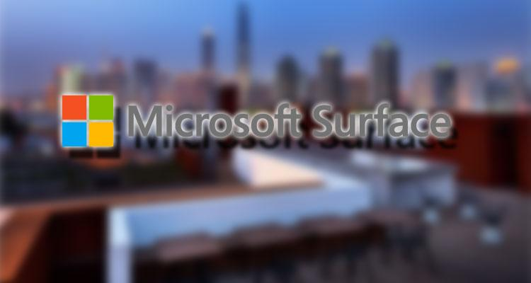 Logotipo de Microsoft Surface