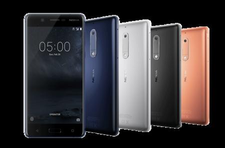 Diseño del nuevo Nokia 5