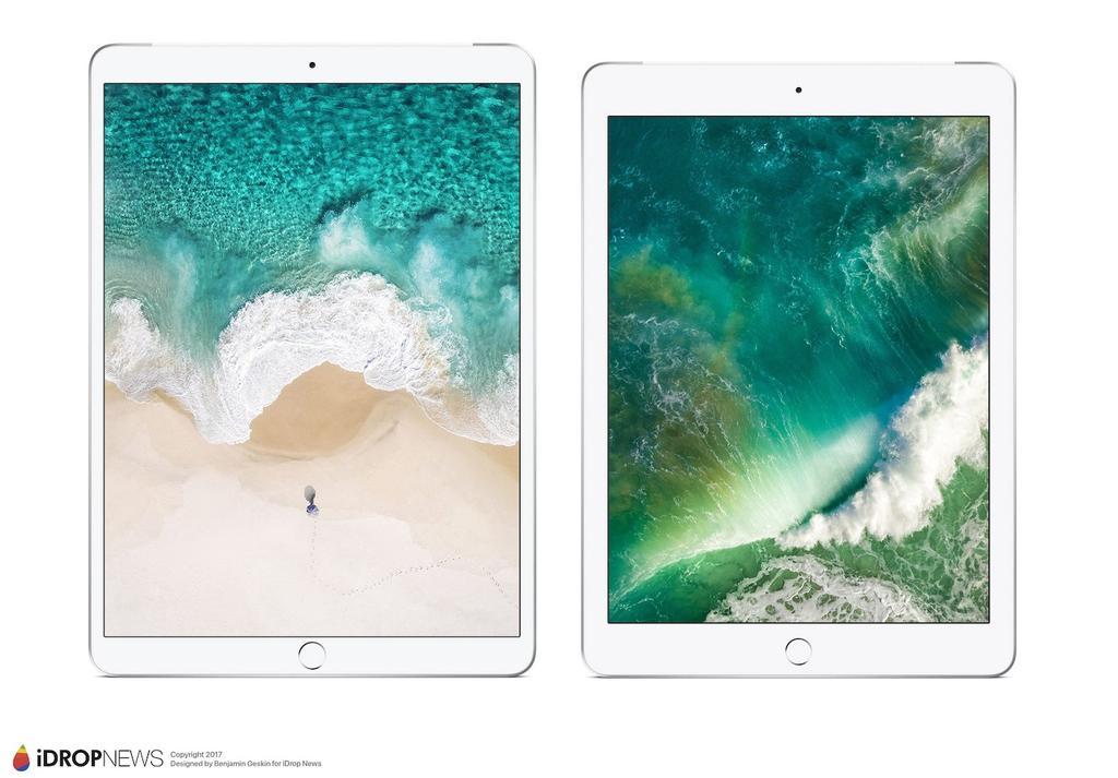 Posible diseño del nuevo iPad Pro