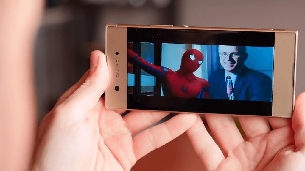 Calidad de la pantalla del Sony Xperia XA1
