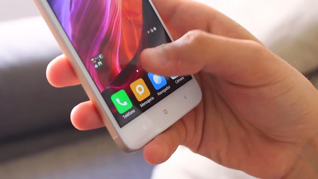 manejo de pantalla del Xiaomi Redmi 4X