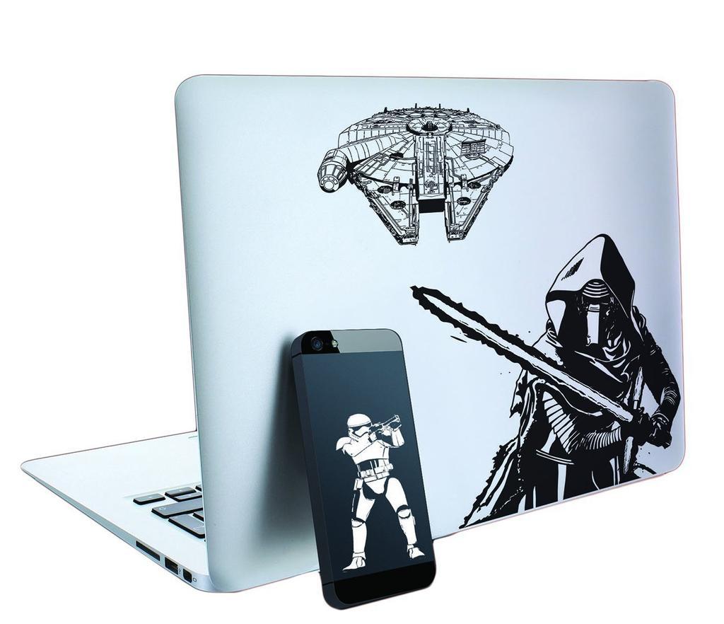 Pegatinas para el día internacional de Star Wars