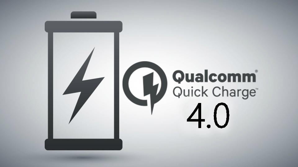 Logotipo de Quick Charge 4