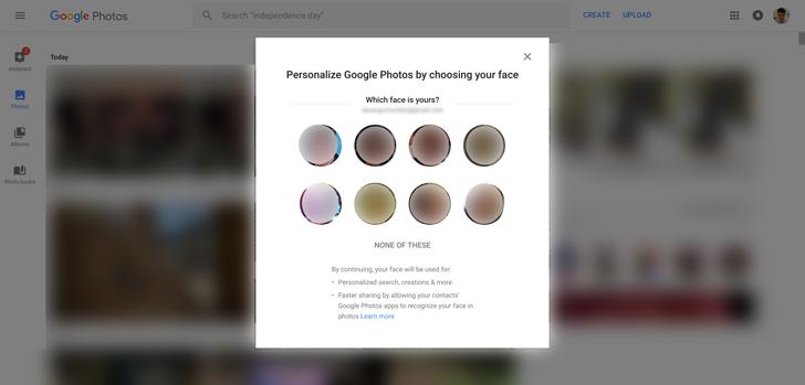Recomendaciones compartir en Google Fotos