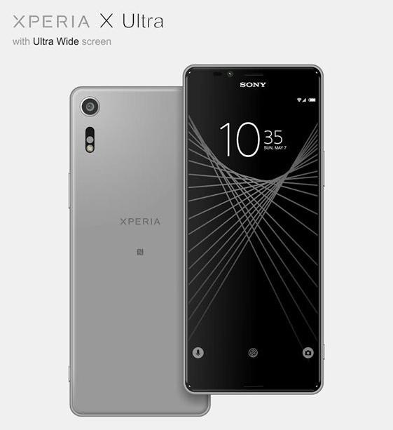 Posible diseño del Sony Xperia X Ultra