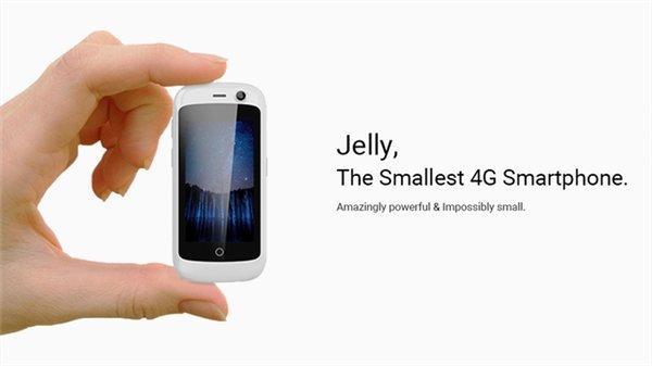 Diseño del teléfono Jelly