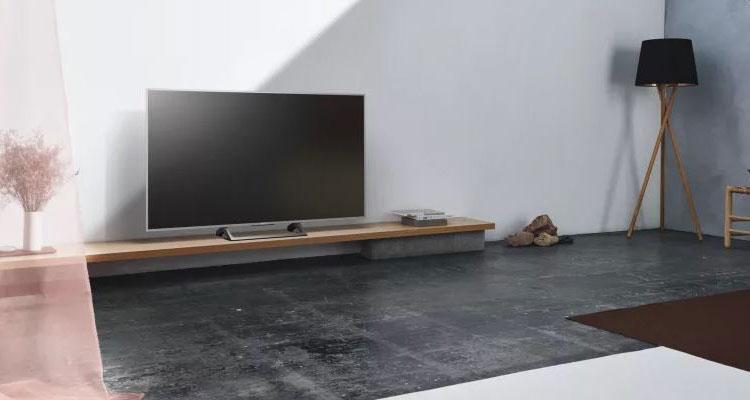 Televisor Sony XE70 en salón