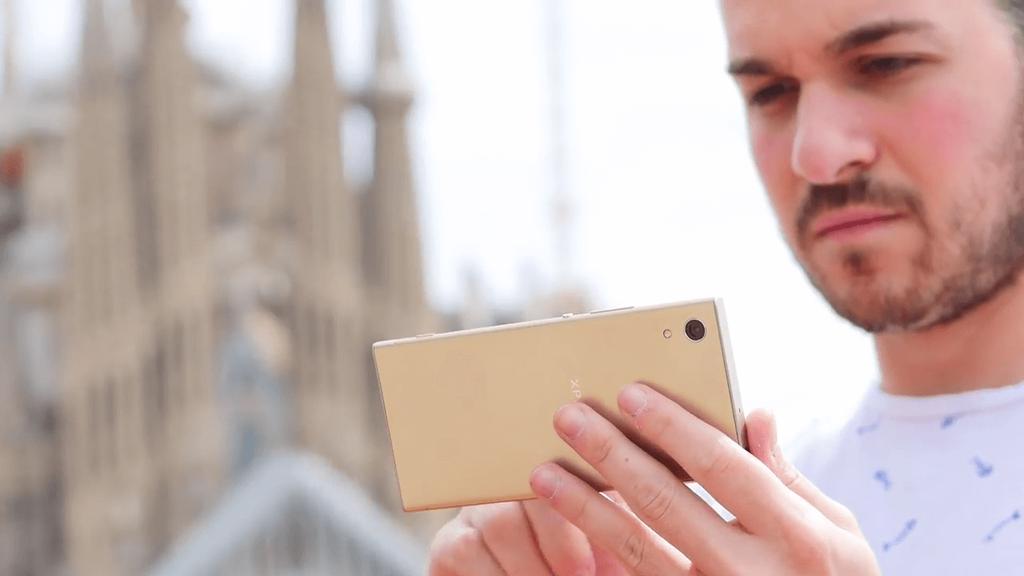 Uso del teléfono Sony Xperia XA1