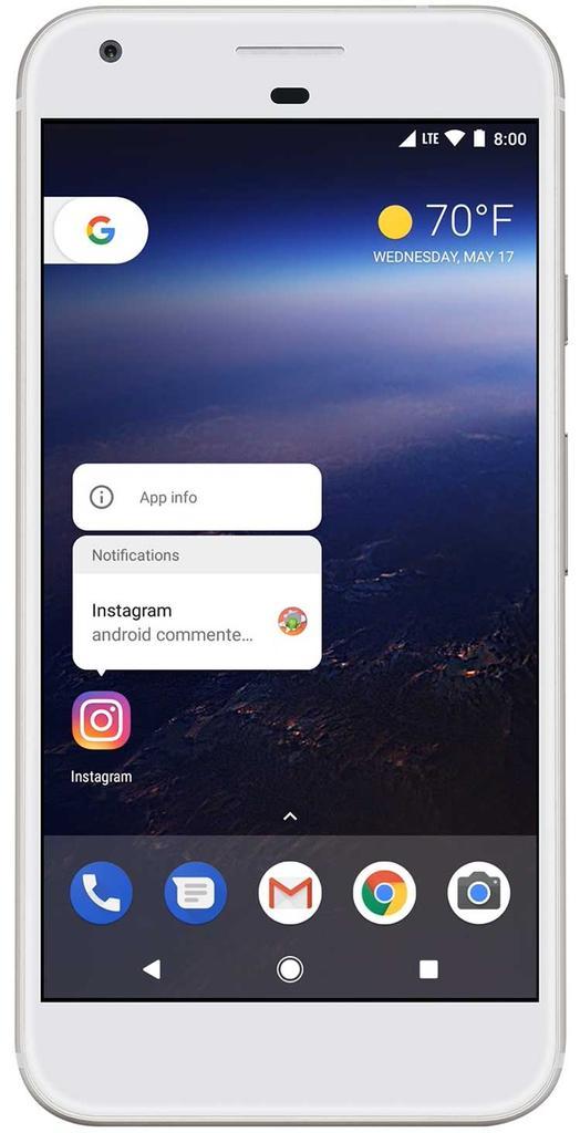 Android O en el Google I/O