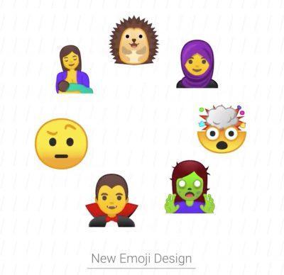 Nuevos emojis de Android O