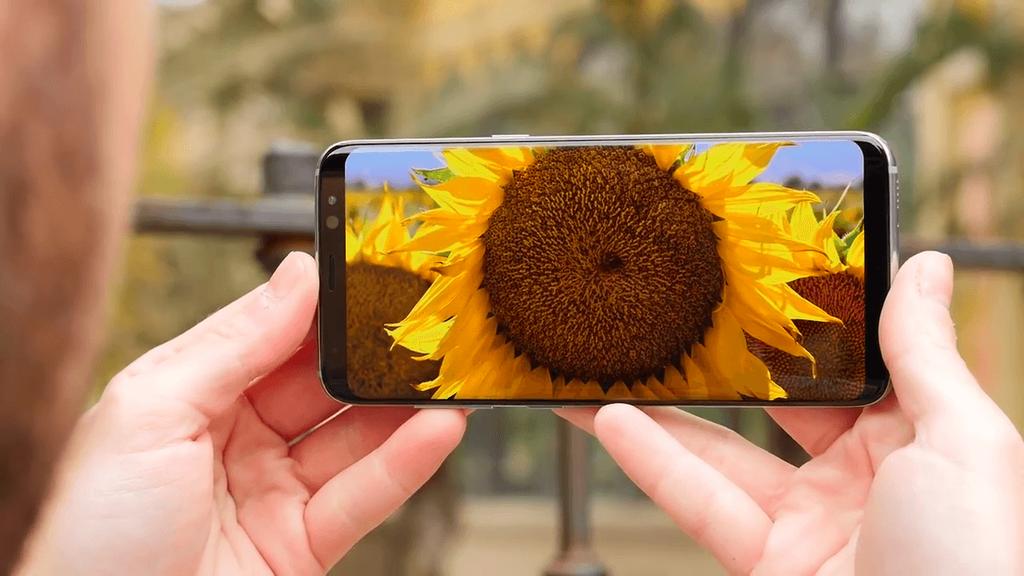 Pantalla del Samsung Galaxy S8