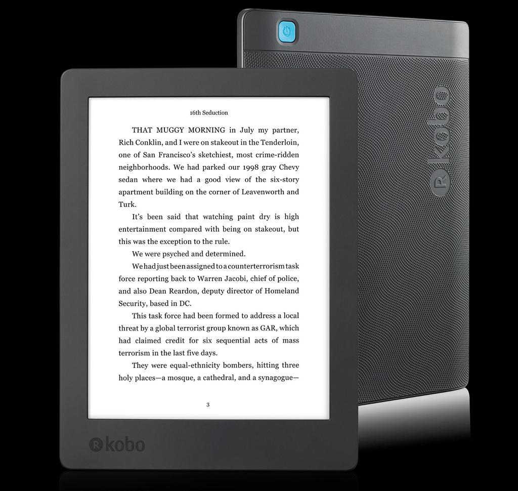 Libro electrónico Kobo Aurora H2O