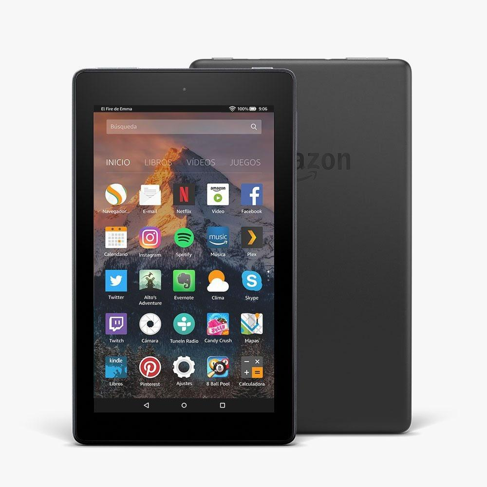 tabletas Amazon Fire 7 y Fire HD 8