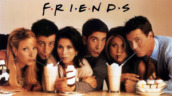 Actores de la serie Friends