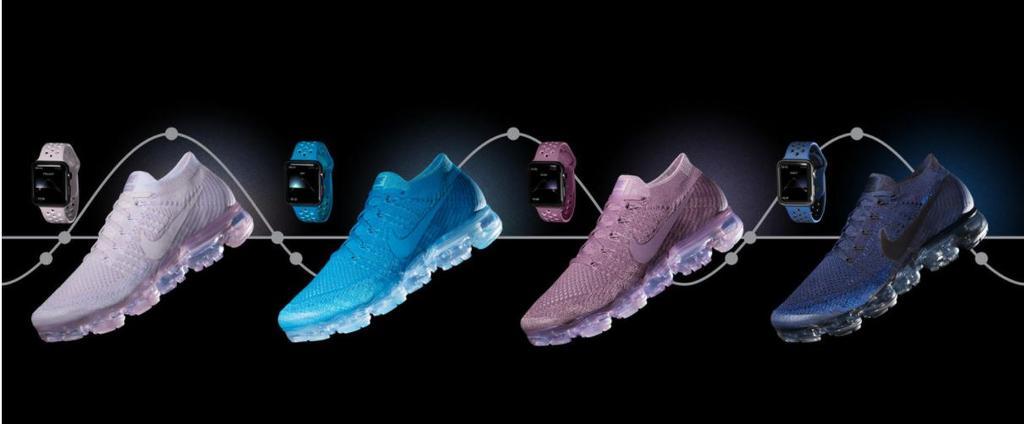 Nuevas pulseras de Nike para el Apple Watch y zapatillas a juego