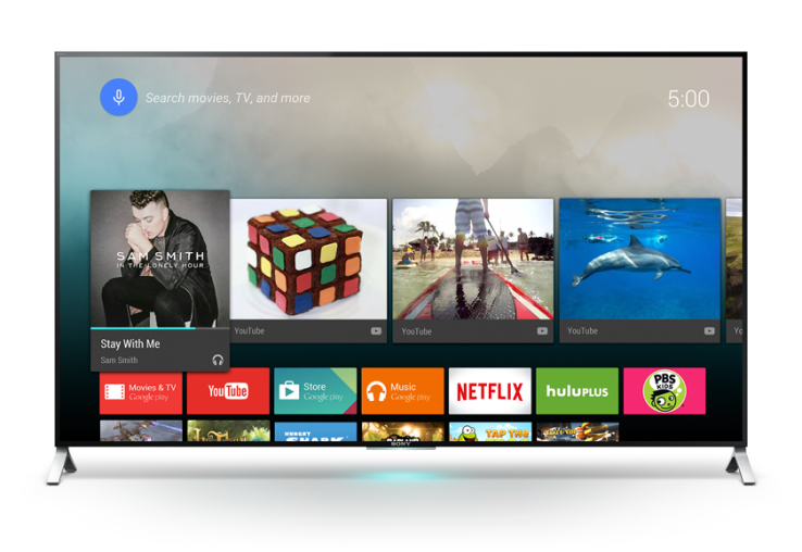 Sony con Android TV